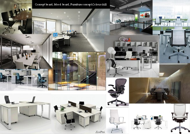Concept space for Home architecture career